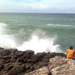 Fishing off Galera Point - by the lighthouse